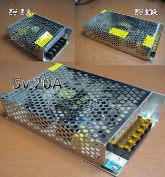 Power Supy 5v 5a Murah Kecil jual switching power supply aneka kapasitas power supply