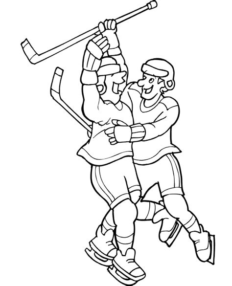 coloring pages hockey player hockey player coloring pages coloring home