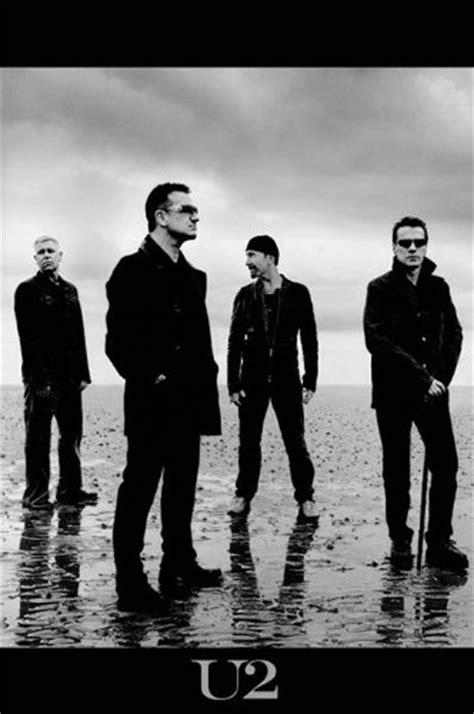 Poster U2 Band M102 u2 band poster quot bono the edge quot new licensed ebay