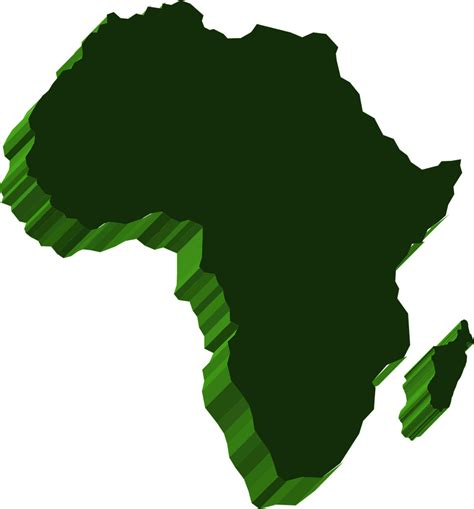 africa map vector png africa free stock photo illustrated map of africa