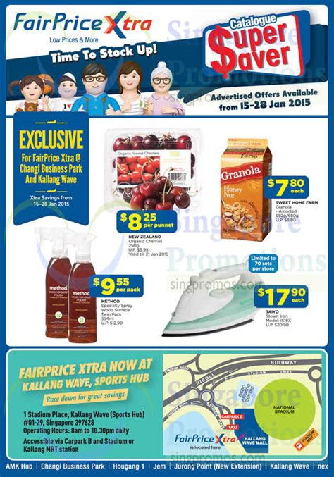 Sprei Tayo ntuc fairprice saver catalogue wines more offers