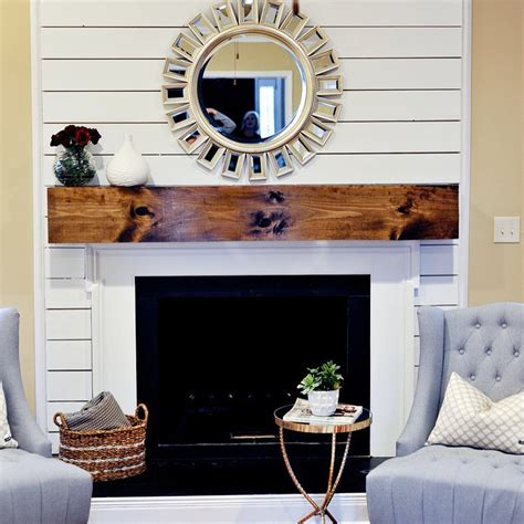 Shiplap Fireplace Wall Mimosa Design Co On Instagram Our Post Shiplap