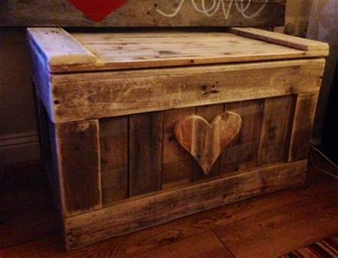 diy pallet wood chest pallet furniture plans