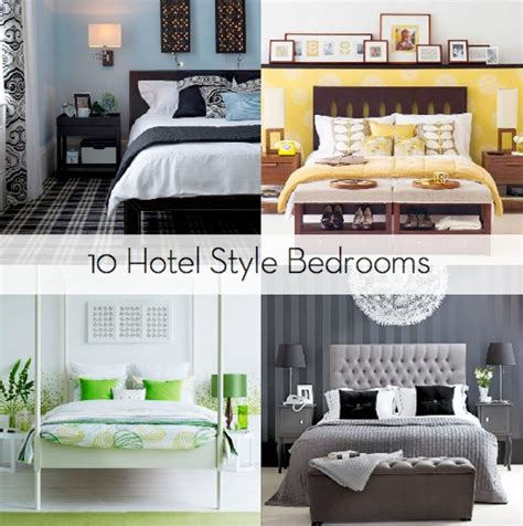 hotel room inspired bedroom inspiration 10 hotel style bedrooms 187 curbly diy design