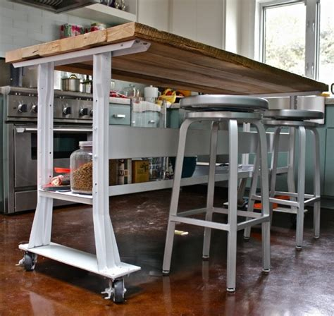 Kitchen Island On Wheels With Seating Pictures regard to