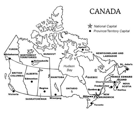 blank canada map quiz canada printable maps travel maps printable map of canada with provinces and territories