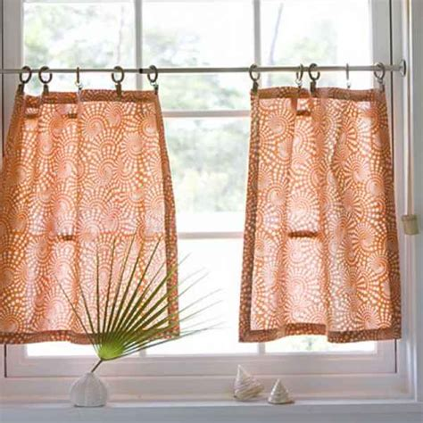 kitchen cafe curtains modern curtain rods to increase interior decoration