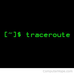 xterm tutorial linux linux traceroute command help and exles