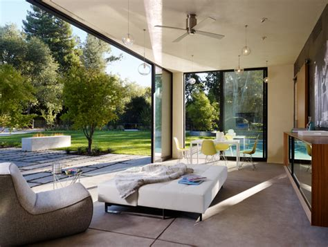 modern pool house modern pool house and garden sonoma 171 enertia designs