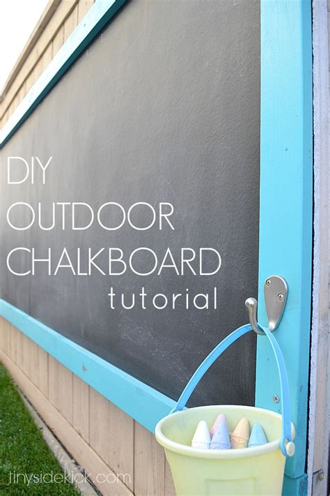 diy chalk paint outside 40 outstanding diy backyard ideas
