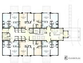Floor Plans two bedroom and one bedrom barrier free designs with open floor plans