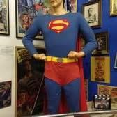 christopher reeve krypto statue super museum souvenir store 72 photos 26 reviews