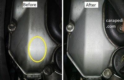 Cairan Pembersih Mesin Mobil Dan Motor cara membersihkan kerak pada mesin agar mengkilap