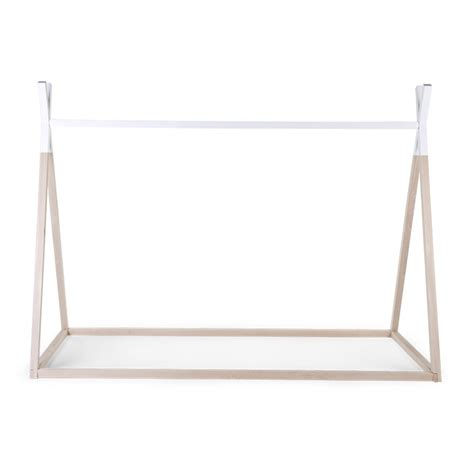 childrens single bed frame children s tipi wooden bed frame single beds cuckooland