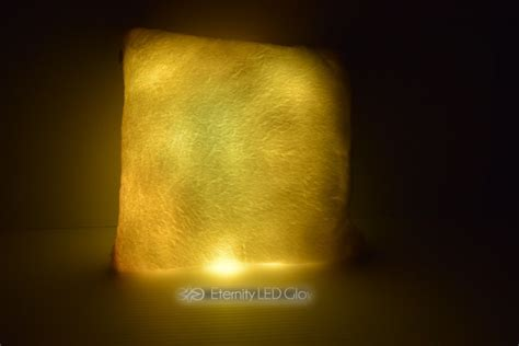 light up sofa led light up couch pillow eternity led