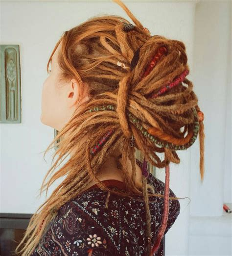 hairstyles for dreads 30 stunning dreadlock styles for girls rock your dreads