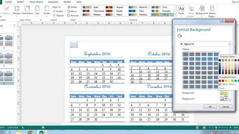 publisher weekly calendar template how to create calendars in microsoft publisher 2013