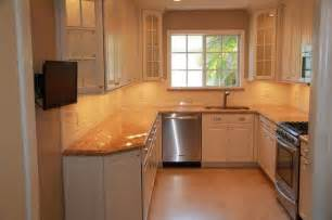 Small U Shaped Kitchen Layout Ideas Kitchen Remodel Traditional Kitchen
