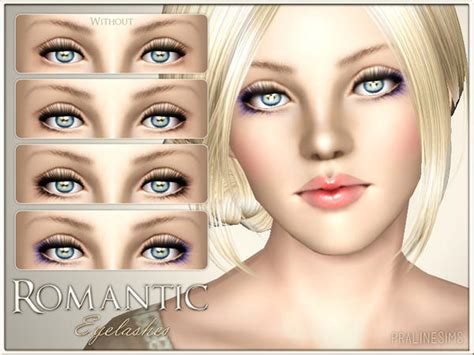 Big Lots Home Decor by The Sims Resource Tsr Romantic Eyelashes Eyeliner By