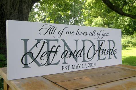 Hochzeit Namen by Gift Personalized Wedding Sign Wedding
