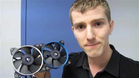 linus tech corsair sp series pressure optimized 120mm cooling fans