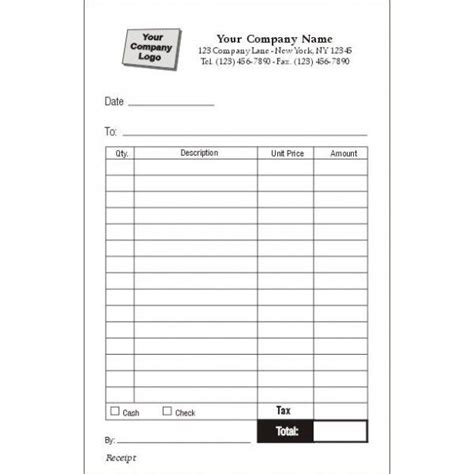 order receipt template order forms receipt forms invoice forms sales books