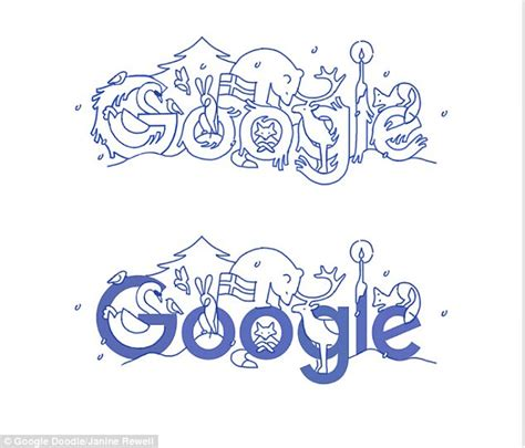 doodle daily mail doodle celebrates finland independence day daily