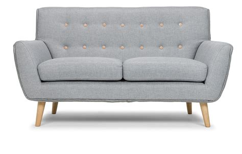 Two Sofas by Richard 2 Seater Sofa In Grey Out And Out Original