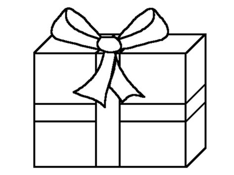 free coloring pages of color gift box