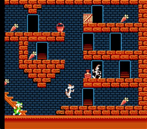 bugs bunny crazy castle, the (nes) online game