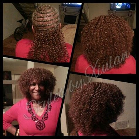 crochet hat with curls and bangs crochet braids with bangs freetress watetwave hair