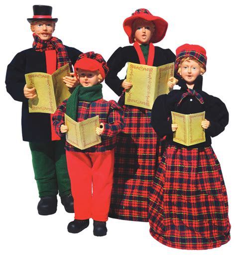 outdoor carolers outdoor decorations carolers carolers