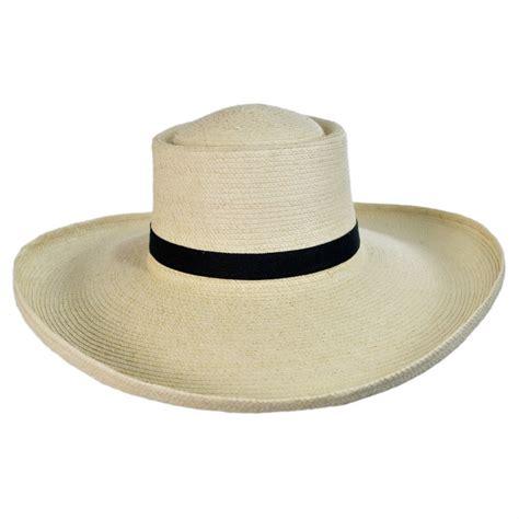 Straw Planter Hat by Sunbody Hats Sam Houston Planter Guatemalan Palm Leaf