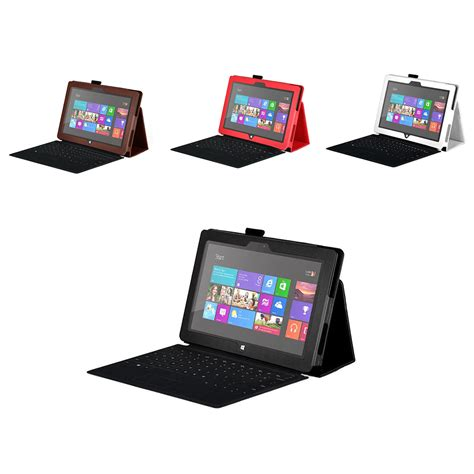 Microsoft Surface Rt Di Indonesia stand leather cover for microsoft surface 10 6