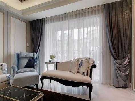 Curtains In The Living Room - مدل پرده سالن پذیرایی جدید با انواع طرح های مدرن و کلاسیک