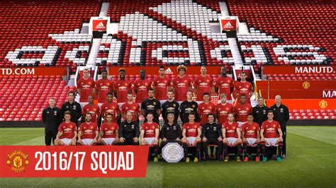 manchester united 2015 2016 team manchester united official team photo 2016 17 redcafe net
