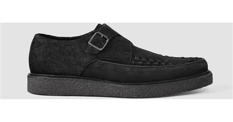 allsaints arc shoe usa usa in black for lyst