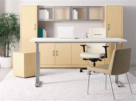 Height Of Office Desk Buy Adjustable Height Desk For Your Home Office Herpowerhustle