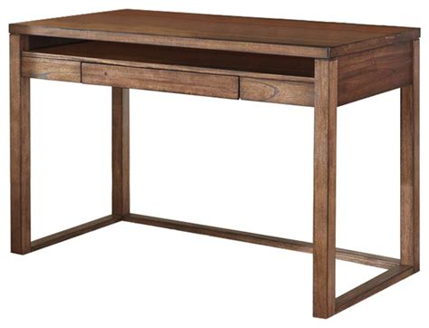 small brown desk h587 10 baybrin home office small desk rustic brown