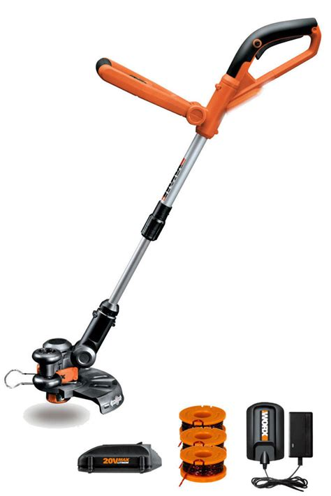 Cutterpede Edge Trimmer 10 by Wg155 Worx 10 Quot 20v Lithium Gt Cordless Grass Trimmer