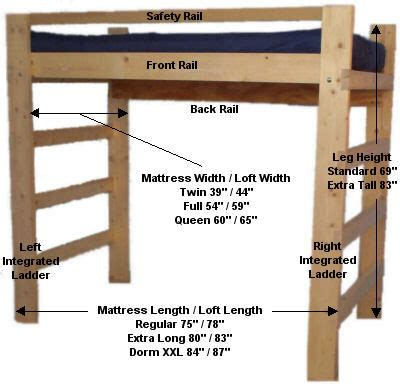 free loft bed plans cool woodworking plans
