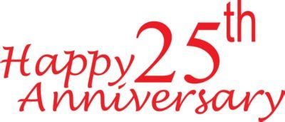 """25th anniversary wishes on photo puzzle 