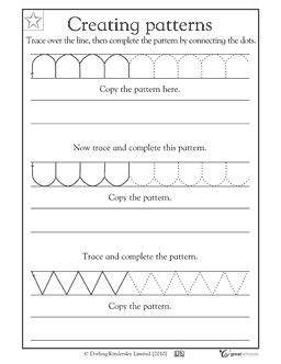 pattern of writing a speech our 5 favorite prek math worksheets the alphabet