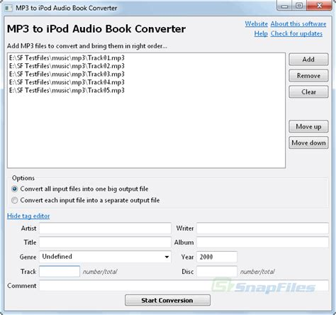 converter audio to mp3 mp3 to ipod audio book converter screenshot and download
