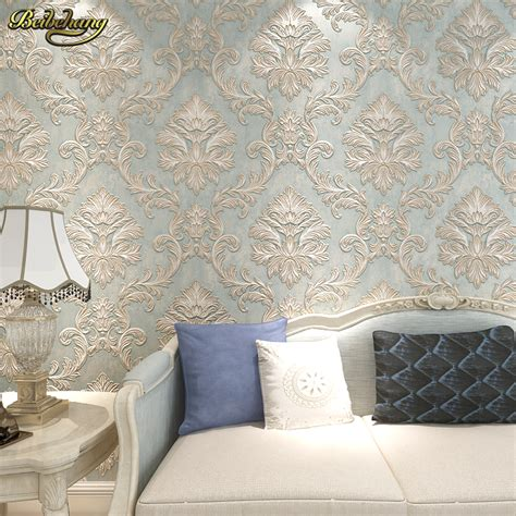 wallpaper for walls sles beibehang 3d damask wall paper bedroom living photo mural