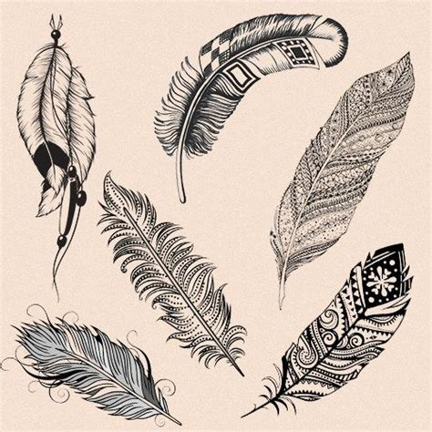 25 best ideas about indian feather tattoos on