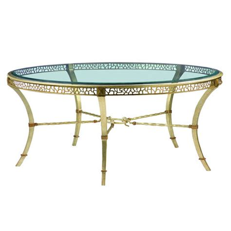 marge carson coffee table marge carson bolero round cocktail table flegel s home