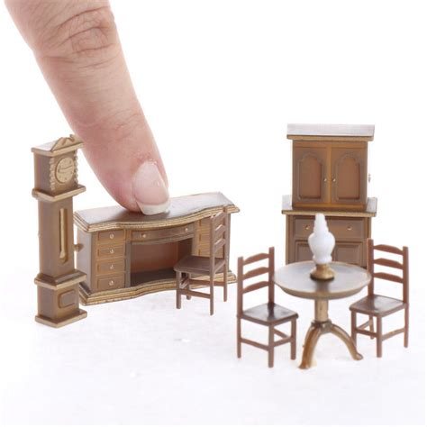 stylist design miniature doll furniture micro set dining