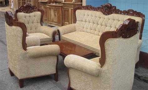 Jual Kursi Tamu Import kursi sofa tamu gajah kerang murah toko mebel