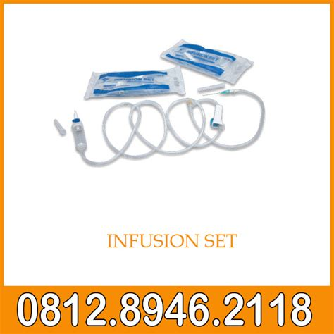 Infusion Set Selang Infus infusion set